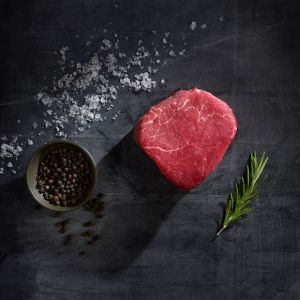 2 x chilled Angus tenderloin steak marble score 2/3 - (halal) - 100% hormone-free, chemical-free (3 days shelf-life)
