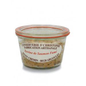 Ready-to-eat artisan smoked salmon terrine - 270g - 100% natural, no preservative
