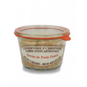Ready-to-eat artisan smoked trout terrine - 270g - 100% natural, no preservative