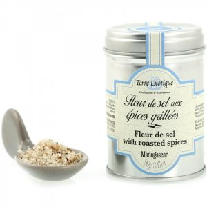 Fleur de sel with grilled spices - 90g