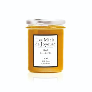 Raw linden-lime tree honey from Ardeche region - 250g - rare honey appreciated for its softness and its menthol and woody notes