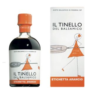Il Tinello - Orange Label Balsamic Vinegar of Modena IGP - 250ml for roasted, grilled fish and meat