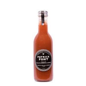 Black Crimee tomato juice in glass bottle - 250ml