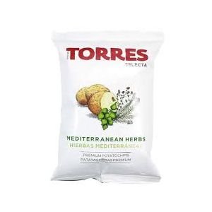 Gourmet potato crisps/chips with Mediterranean herbs - 150g