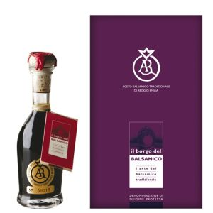 DOP Gold Label Traditional Balsamic Vinegar of Reggio Emilia aged min 25 years - 100ml