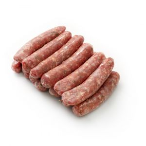 Raw Dutch milk-fed veal sausages 35g/piece - 5kg (halal) (frozen)