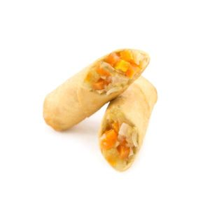 Raw mixed vegetable spring roll 20g/pc - 100 pc (frozen) - to be fried