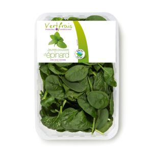 Baby spinach leaves - 125g