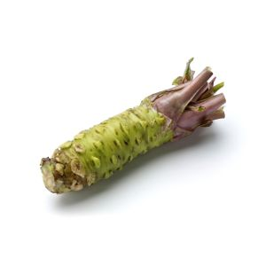 Fresh wasabi horseradish (rhizome) - 150g - classicly paired with sushi and sashimi - 10 days lead-time