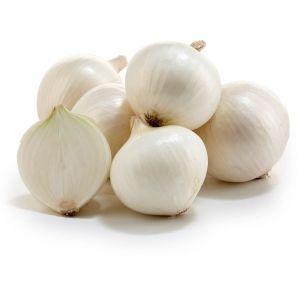 Organic white onion - 1kg