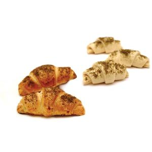 Pre-baked mini croissants Zaatar - 12 x 35g (frozen) - generic packing / follow our cooking tips