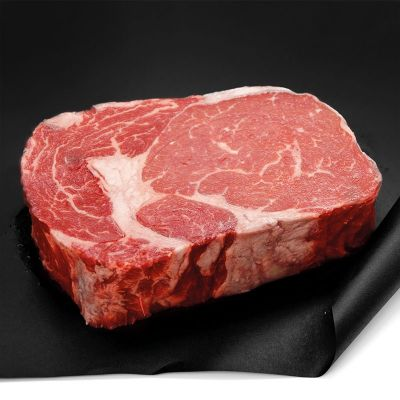 Chilled Argentinian Hereford beef ribeye 160 aed/kg - from 2 to 3kg (halal) - antibiotic-free, hormone-free