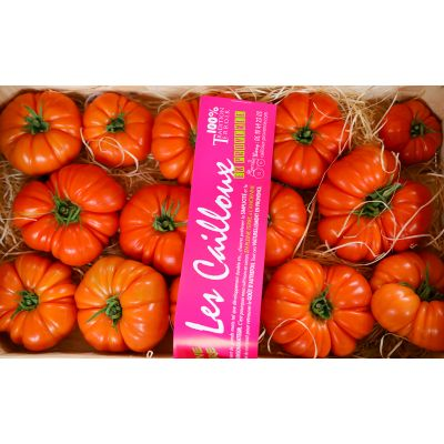 """Premium Marmande tomatoes """"les cailloux"""" - 500g - sustainable agriculture"""