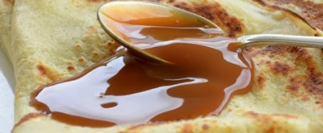 Crepes with Bordier vanilla butter and homemade caramel