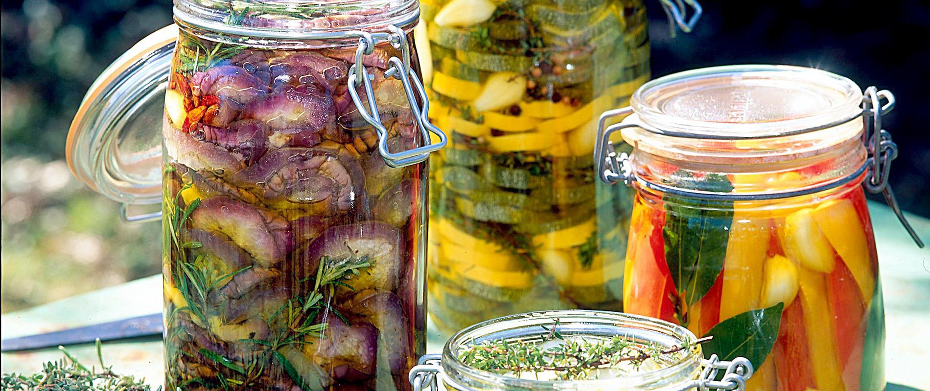 Italian recipe to preserve vegetables
