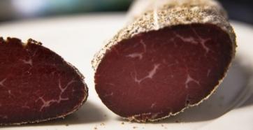 Bresaola, a beautiful Italian delicacy