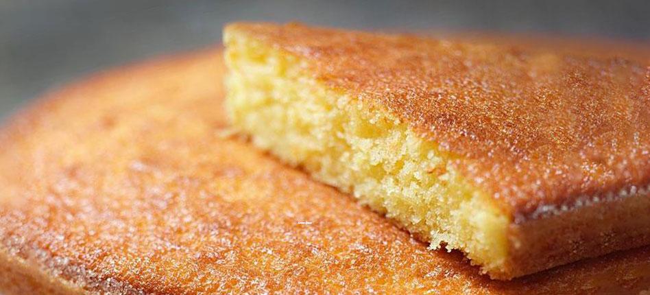 COMFORT FOOD : Orange cake recipe by Jean-Francois Piege