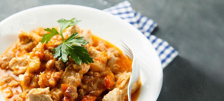 Chicken with chorizo recipe