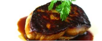 Sauteed duck foie gras