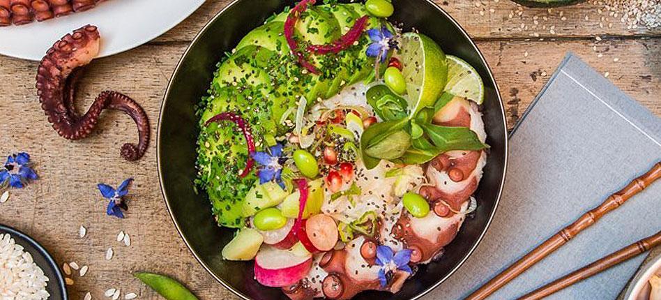 SUMMER Hawaiian poke bowl recipe