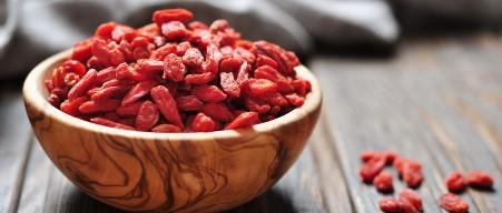 The origin of Goji berries