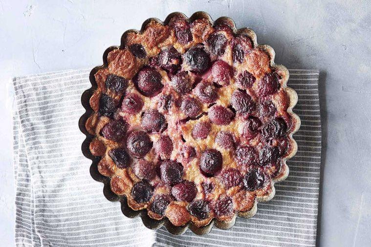 Cherry clafoutis recipe by Jean-Francois Piege