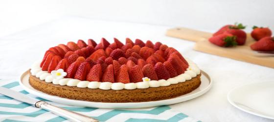EASTER Gariguette strawberry tart recipe