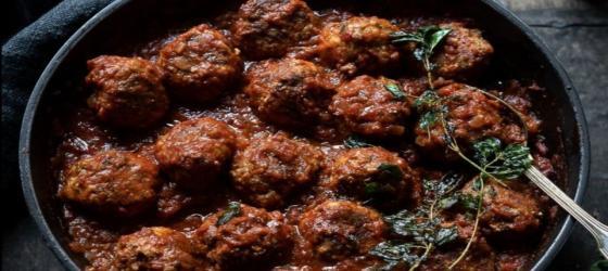 Ottolenghi's ricotta and oregano meatballs recipe
