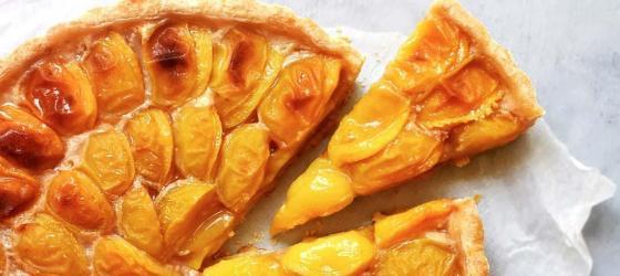 Mirabelle plum tart