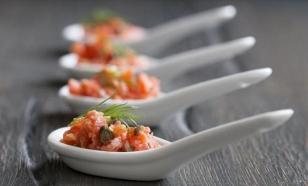 Scottish salmon tartare recipe