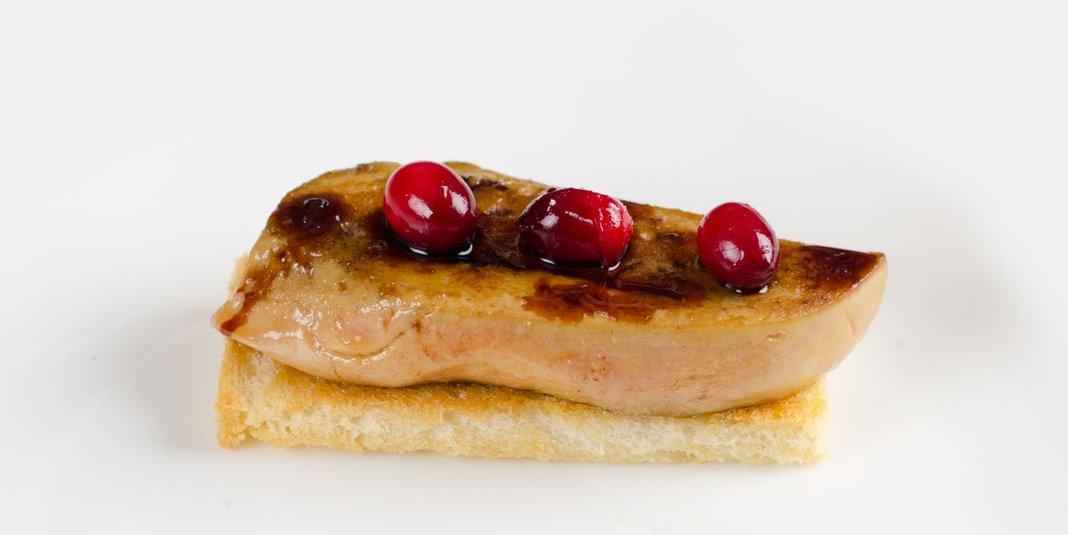 The famous recipe of seared foie gras