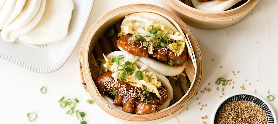 CHINESE NEW YEAR : Sesame chicken gua bao recipe