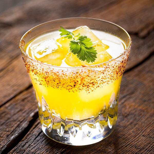 Spicy basil mocktail recipe