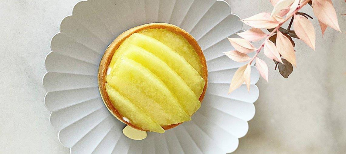 SUMMER Japanese melon tart