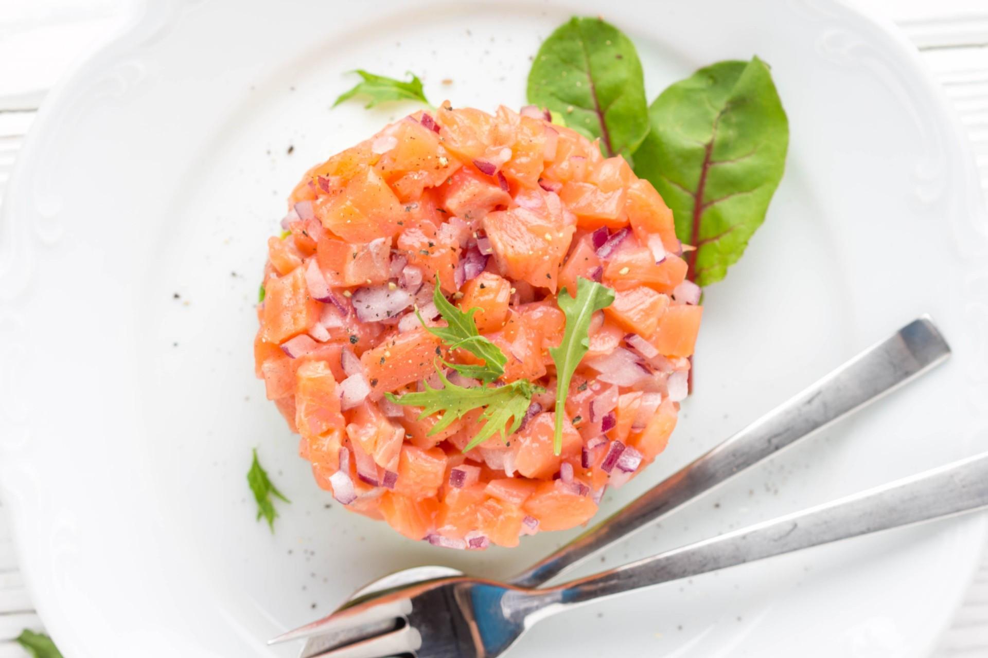 SUMMER Scottish salmon tartare with citrus recipe