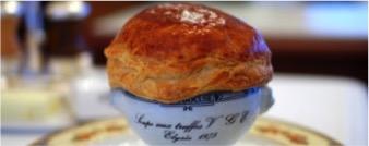 Truffle soup V.G.E from Paul Bocuse