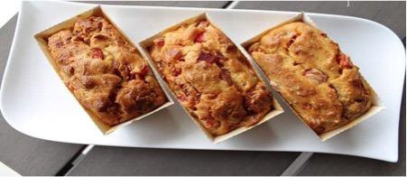 Turkey Chorizo and Red Pepper Cake